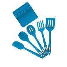 Kitchen HQ 6-piece Silicone Kitchen Utensil Set
