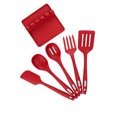 Kitchen HQ 6-piece Silicone Kitchen Utensil Set
