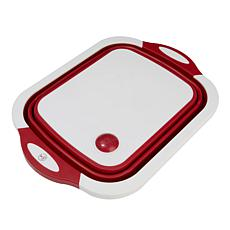Kitchen HQ Chop and Strain Cutting Board/Colander Combination