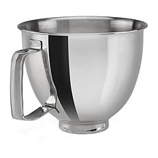 KitchenAid 3.5-Quart Polished Stainless Steel Bowl with Handle