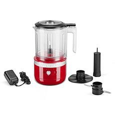 KitchenAid Cordless 5-Cup Food Chopper - Passion Red
