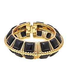 "KJL by Kenneth Jay Lane ""Fabulous Op Art""  Bangle Bracelet"