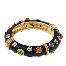 "KJL by Kenneth Jay Lane ""Firenze"" Cabochon Bangle Bracelet"