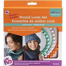Knitting Board Chunky Round Loom Set of 3 - 48, 36 and 24 Pegs