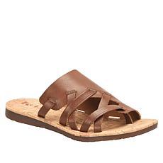Korks Sahara Toe-Post Slide Sandal