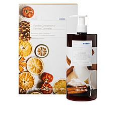 Korres 1 Liter Vanilla Cinnamon Renewing Body Cleanser