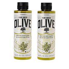 Korres 2-pack Pure Greek Olive Oil & Blossom Shower Gel