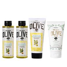 Korres 4-piece Olive Oil & Bergamot Age-Defying System Auto-Ship®
