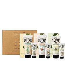 Korres 6-piece Olive Oil Renewing Body Cream Set