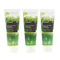 Korres Basil Lemon Jumbo Body Butter Trio