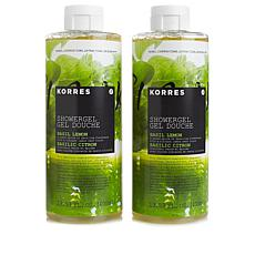Korres Basil Lemon Shower Gel Duo