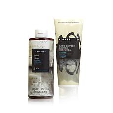 Korres Body Butter and Shower Gel Duo - Yoghurt