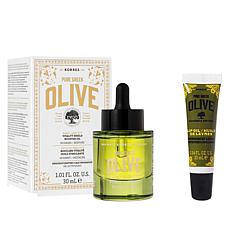Korres Early Harvest Olive Oil 2-piece Face & Lip Set