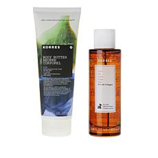 Korres Fig Body Spray and Body Butter Set