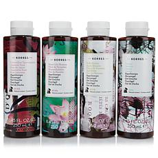 Korres Greek Isle Florals Shower Gel 4-piece Kit