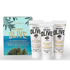 Korres Greek Olive Oil Skin Secrets of Greece 3-piece Set