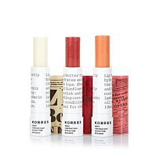 Korres Mandarin Lip Butter Stick Trio
