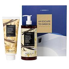 Korres Mediterranean Vanilla Supersize 2-piece Gift Set