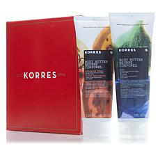Korres Moisturizing Body Butter Duo - Fruits