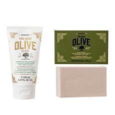 Korres Olive Firming Elixir & Cleansing Balm