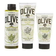 Korres Olive Oil & Blossom 3-piece Collection