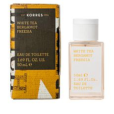 Korres White Tea & Bergamot Freesia Eau de Toillette