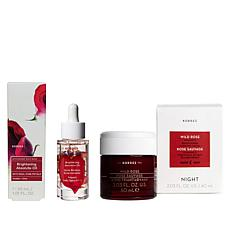 Korres Wild Rose Brighten & Nourish 2-piece Set