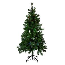 Kurt Adler 5' Pre-Lit Twinkly LED Pine Christmas Tree