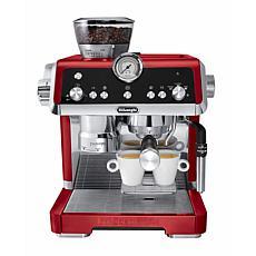 La Specialista Dual-Heating System Espresso Machine in Red