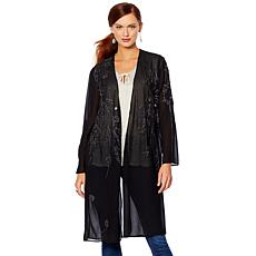 LaBellum by Hillary Scott Embellished Duster