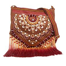 LaBellum by Hillary Scott Handbeaded Crossbody