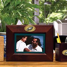 Landscape Brown Picture Frame - Philadelphia Eagles