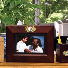 Landscape Brown Picture Frame - Pittsburgh Steelers