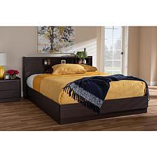Larsine Queen Size Platform Storage Bed