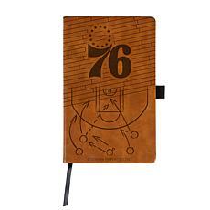 Laser Engraved NBA Notepad - Philadelphia 76ers