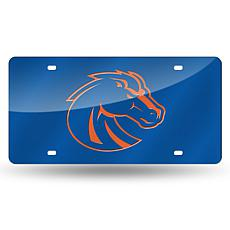 Laser Tag License Plate - Boise State University (Blue)