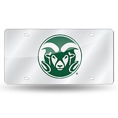 Laser Tag License Plate - Colorado State University (Silver)
