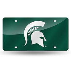 Laser Tag License Plate - Michigan State University (Gr