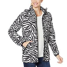 Laurier Water-Resistant Printed Stretch Puffer Coat
