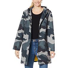 Laurier Waterproof Printed Jacket with Hood