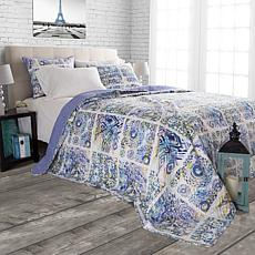 Lavish Home Melody 3-piece Quilt Set  - Full/Queen