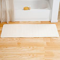 "Lavish Home Memory Foam Striped  Bath Mat - 24"" x 60"""