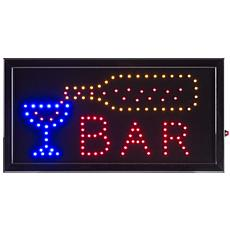 Lavish Home Neon Electric LED Bar Sign with Animation