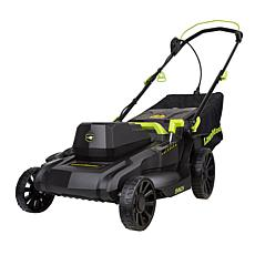 "LawnMaster 2-in-1 Corded Electric 18"" Walk Behind Push Mower"
