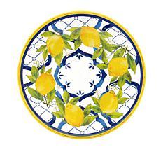 Le Cadeaux Palermo 4-piece Salad Plate Set