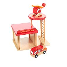 Leading Edge Wooden Fire Station
