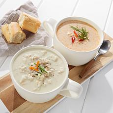 Legal Sea Foods Clam Chowder/Lobster Bisque 2-Quart