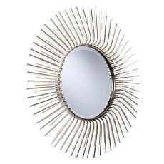 Lenny Mid-Century Modern Sunburst Oversized Wall Mirror