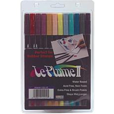 LePlume II Marker Set - 12 Assorted Victorian Colors