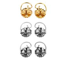 Levears™ Gold-Plated and Stainless Steel Earring Lifts